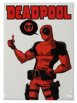 DEADPOOL -  SMILEY MAGNET