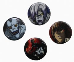 DEATH NOTE -  MYSTERY BUTTON (1