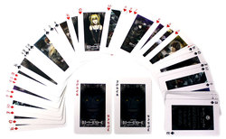 DEATH NOTE -  PLAYING CARDS