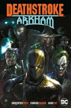 DEATHSTROKE -  ARKHAM TP