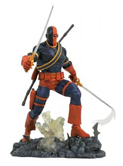 DEATHSTROKE -  DEATHSTROKE PVC STATUE (10INCHES) -  DC GALLERY