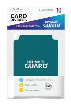 DECK DIVIDERS -  CARD SLEEVES DIVIDERS PETROL (10)