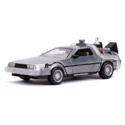 DELOREAN -  DELOREAN BACK TO THE FUTURE II TIME MACHINE WITH LIGHTS - 1/24 -  BACK TO THE FUTUR 2