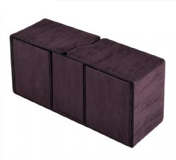 DELUXE DECK BOX -  ALCOVE VAULT SUEDE AMETHYST (PURPLE) - 200