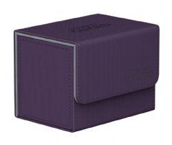 DELUXE DECK BOX -  SIDEWINDER XENOSKIN DECK CASE - PURPLE (80)