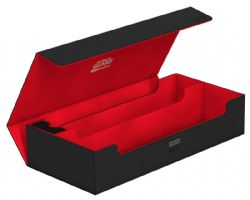 DELUXE DECK BOX -  SUPERHIVE STANDARD SIZE XENOSKIN - BLACK/RED 2020 EXCLUSIVE (550+)