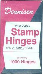 DENNISEN -  DENNISEN STAMP HINGES - PACK OF 1000