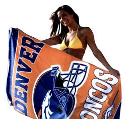 DENVER BRONCOS -  BEACH TOWEL (30
