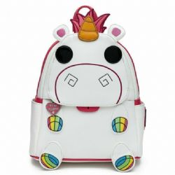 DESPICABLE ME -  MINI BACKPACK - FLUFFY UNICORN -  LOUNGEFLY