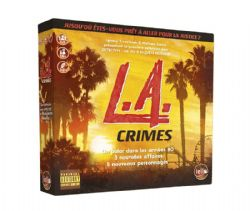DETECTIVE : UN JEU D'ENQUÊTE MODERNE -  L.A. CRIMES (FRENCH)