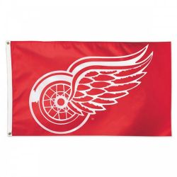 DETROIT RED WINGS -  3' X 5' HORIZONTAL FLAG