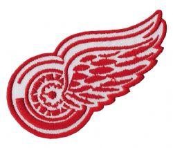 DETROIT RED WINGS -  EMBROIDERED PATCH LOGO