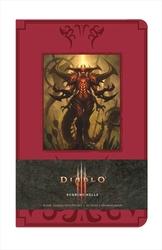 DIABLO -  DIABLO : BURNING HELLS - HARDCOVER RULED JOURNAL (192 PAGES) -  DIABLO III