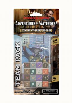 DICE MASTERS -  ADVENTURES IN WATERDEEP TEAM PACK (ENGLISH) -  DND