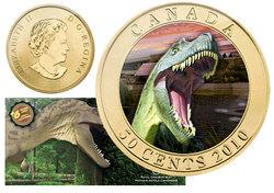 DINOSAURS EXHIBIT -  ALBERTOSAURUS -  2010 CANADIAN COINS 02