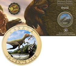 DINOSAURS EXHIBIT -  SINOSAUROPTERYX -  2010 CANADIAN COINS 03