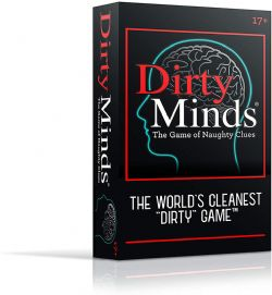 DIRTY MINDS : THE GAME OF NAUGHTY CLUES -  30TH ANNIVERSARY EDITION (ENGLISH)