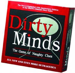DIRTY MINDS : THE GAME OF NAUGHTY CLUES -  MASTER EDITION (ENGLISH)