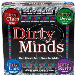 DIRTY MINDS : THE GAME OF NAUGHTY CLUES -  ULTIMATE EDITION (ENGLISH)