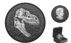 DISCOVERING DINOSAURS -  REAPER OF DEATH -  2021 CANADIAN COINS 01