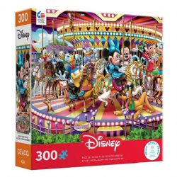 DISNEY -  MICKEY AND FRIENDS ON A CAROUSEL (300 PIECES)