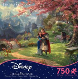 DISNEY -  MULAN BLOSSOMS OF LOVE (750 PIECES)