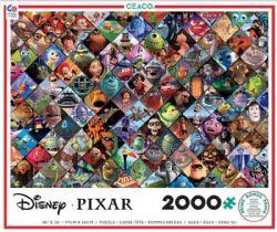DISNEY -  PIXAR CLIPS (2000 PIECES)