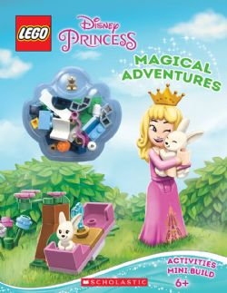 DISNEY PRINCESS -  LEGO - MAGICAL ADVENTURES - ACTIVITY BOOK