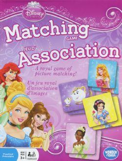 DISNEY PRINCESS -  MATCHING GAME (MULTILINGUAL)