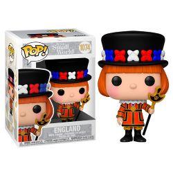 DISNEY SMALL WORLD -  POP! VINYL FIGURE OF ENGLAND (4 INCH) 1074