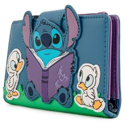 DISNEY -  STITCH AND DUCKIES WALLET -  LOUNGEFLY