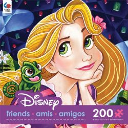 DISNEY -  TANGLED FLOWERS IN HER HAIR (200 PIECES)