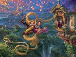 DISNEY -  TANGLED UP IN LOVE (750 PIECES)