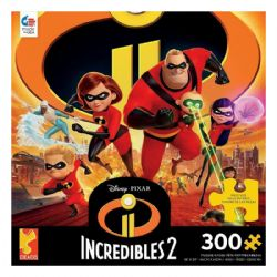 DISNEY -  THE INCREDIBLES II (300 PIECES) -  PIXAR