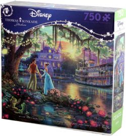 DISNEY -  THE PRINCESS AND THE FROG (750 PIECES)