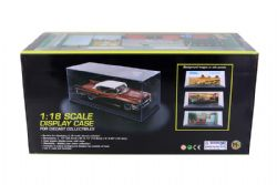DISPLAY CASES -  1/18 SCALE DIECAST DISPLAY CASE - BLACK