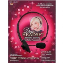 DIVA -  REALISTIC DIVA HEADSET - FULLY ADJUSTABLE HEADPIECE AND MOUTHPIECE