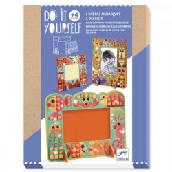 DO IT YOURSELF -  ANIMAL WORDL (MULTILINGUAL) -  3 MOSAIC PHOTO FRAME TO DECORATE