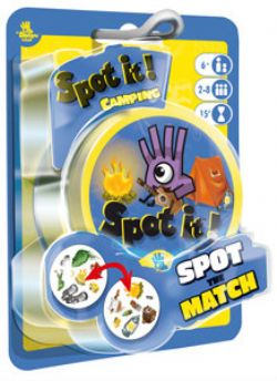 DOBBLE -  SPOT IT! - CAMPING (ENGLISH)