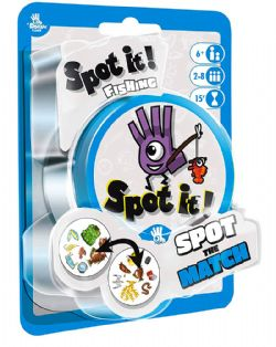 DOBBLE -  SPOT IT! - FISHING (MULTILINGUAL)