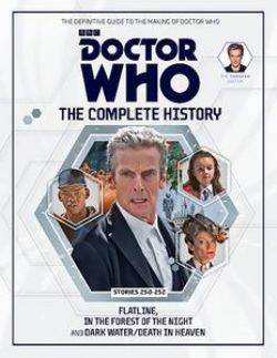 DOCTOR WHO -  COMPLETE HISTORY STORIES 250-252 -  DOCTOR WHO TWELVE DOCTOR