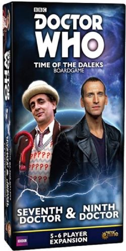 DOCTOR WHO : TIME OF THE DALEKS -  SEVENTH & NINTH DOCTOR (ENGLISH)