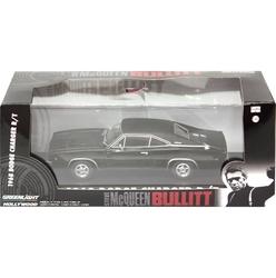 DODGE -  1968 CHARGER 1/43 - BLACK -  BULLITT