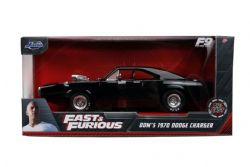 DODGE -  DOM'S CHARGER 1970 1/24 - BLACK -  FAST AND FURIOUS