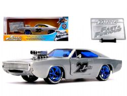 DODGE -  DOM'S CHARGER 1970 1/24 - GREY -  FAST AND FURIOUS