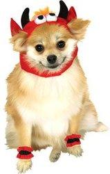 DOG COSTUME -  DEVIL COSTUME (DOG)