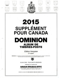 DOMINION -  2015 SUPPLEMENT (FRENCH)