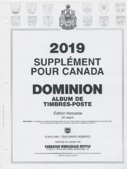 DOMINION -  2019 SUPPLEMENT (FRENCH)