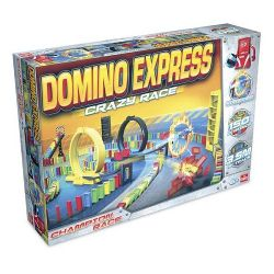 DOMINO RALLY -  Domino express - CRAZY RACE