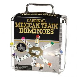 DOMINOES -  DOUBLE 12 - MEXICAN TRAIN (BILINGUAL)